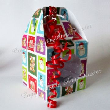 125mm Bauble Box for Round Baubles Template
